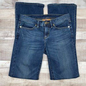 Tory Burch Classic Tory Mid Rise Bootcut Jeans 25